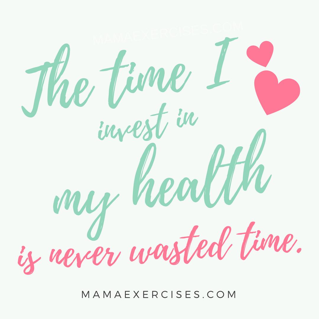 Mama Exercises' Motivation Monday - Week 1