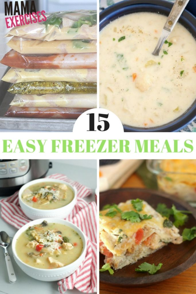 15 Easy Freezer Meals for Meal Prep