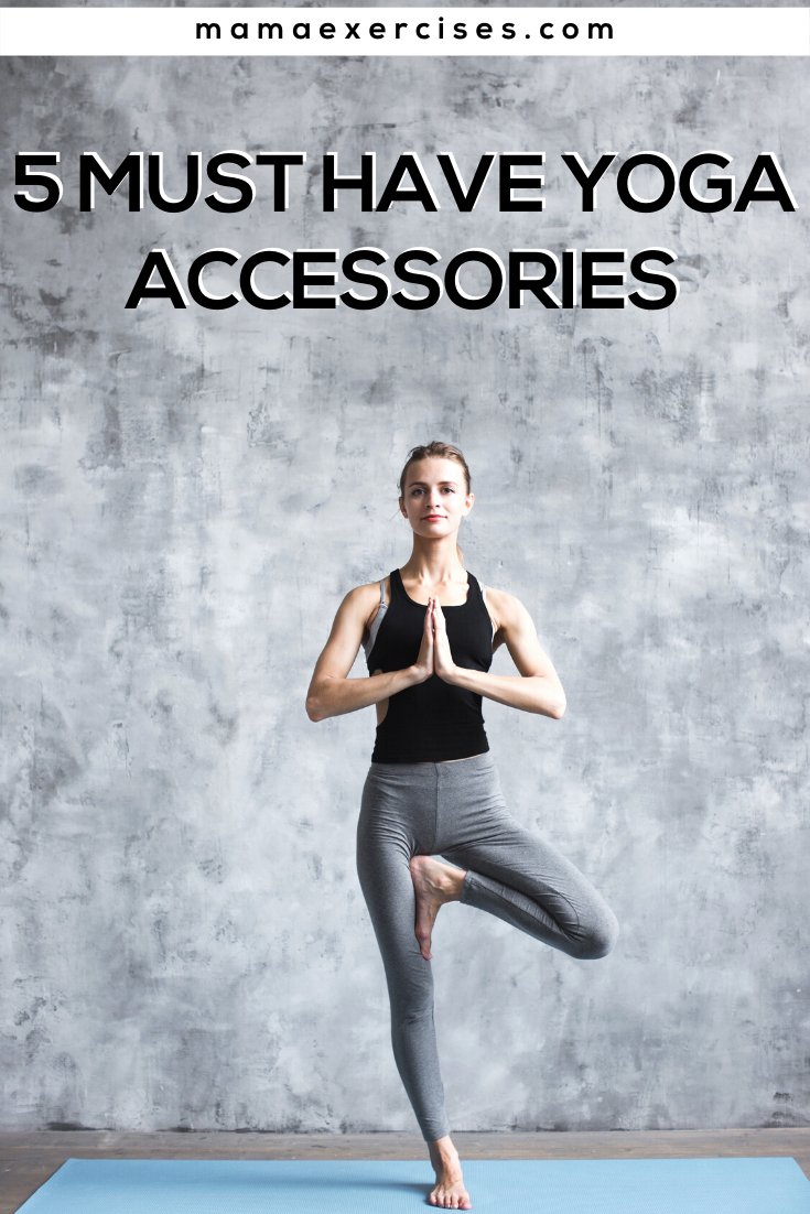 Must Have Yoga Accessories - Yoga Gift Ideas for the Yogi in Your Life - MamaExercises.com