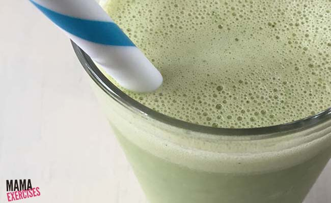 Smoothie Recipe - Peanut Butter and Banana and Spinach