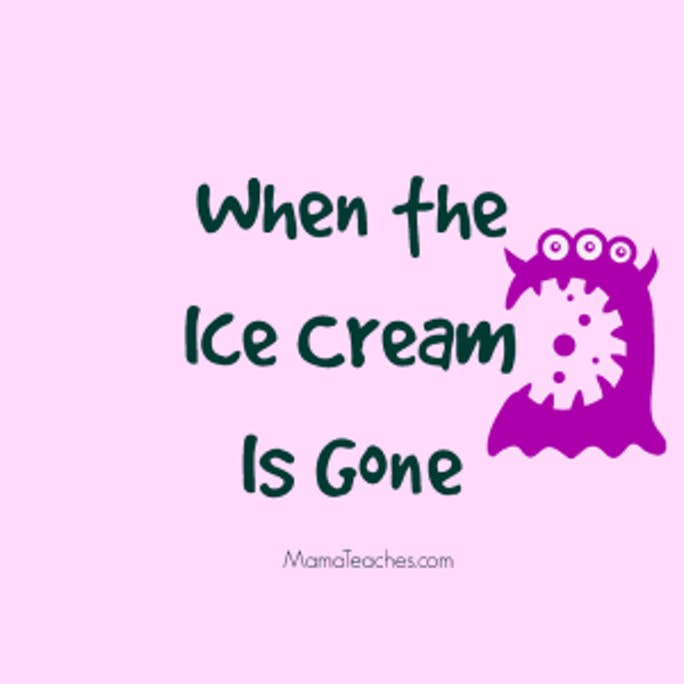 Exercise Excuses - When the Ice Cream is Gone